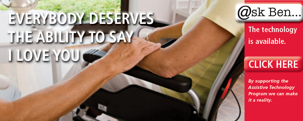 ALS Assistive Technology Banner