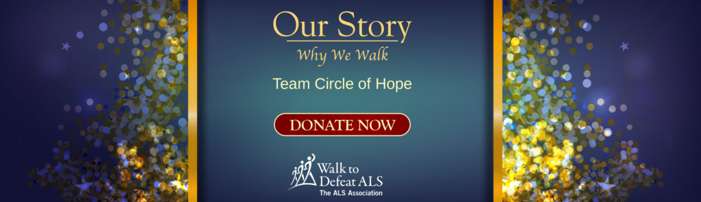 ALS Walk Team Banner - Team Circle of Hope