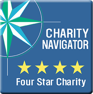 Charity Navigator Four Star Charity rating