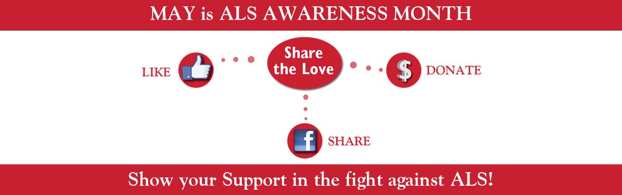 May is ALS Awareness Month