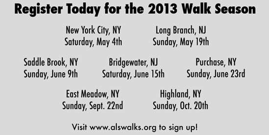 Walk to Defeat ALS 2013
